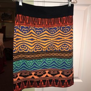 Colorful PLENTY by: TRACY REESE skirt